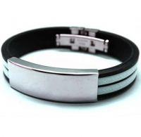 Каучуковый браслет для гравировки