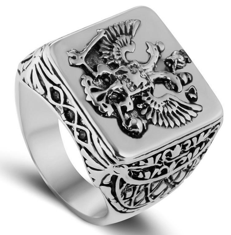Перстень с Российским гербом