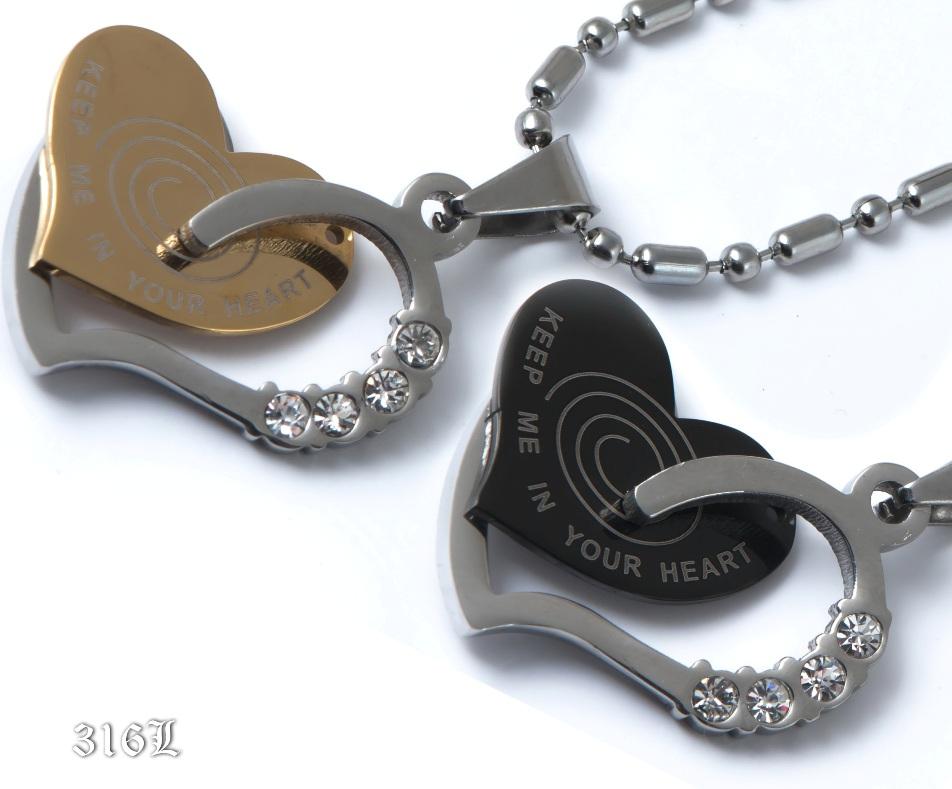 Парные кулоны Два Сердца